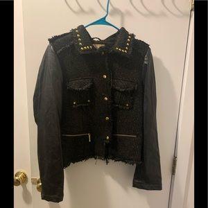 Fun and embellished black jacket by Pink Envelope